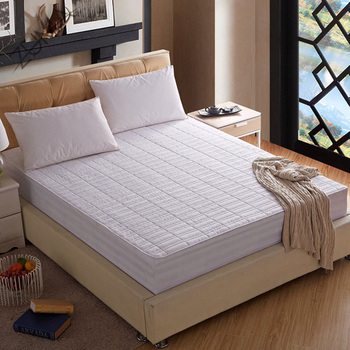 Mattress Pad Protector Queen Size Waterproof Quilted Topper Cover Dust Mite Protection Deep Pocket Ed Skirt