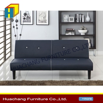 Contemporary Style Fabric Sofa Bed Upholstery Modern Wooden Sleeper