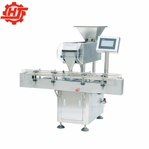 JS-8 Pharmaceutical machinery automatic packing line electronic soft gel counter counting bottling machine