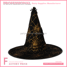 Various styles witch halloween hat make a witch hat from felt for headband with spider decoration