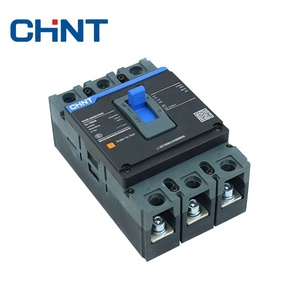 Wholesale CHNT 630 AMP Mould Circuit Breaker 3P Squared Overload Protection MCCB NXM-125S/3300 CHNT High Quality