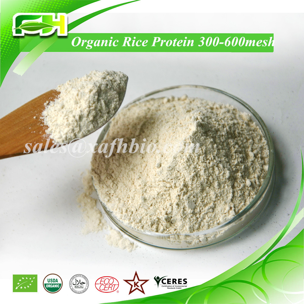 Health Food 80% Organic Rice Protein Powder