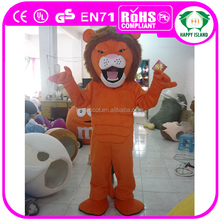 HI CE adult lion mascot costume for sale