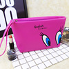 Large capacity hand holding bag new design cosmetic bag rose cute make up bag