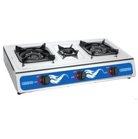 Stainless steel three burner gas stove /Gas Cooker gas ranges