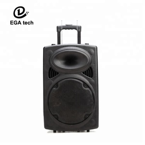 15'' trolley bluetooth speaker for parties