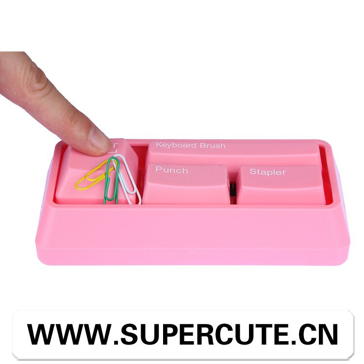 wholesale china school stationery, papeleria creative gift guangzhou desk stationery, keyboard kids min set office stationery
