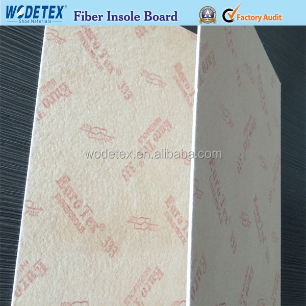 Jnjiang Wodetex Good price Non woven insole board footwear raw material