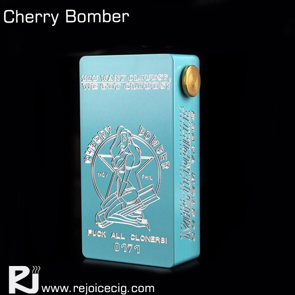 New arrival clone magnet switch cherry bomber box mod