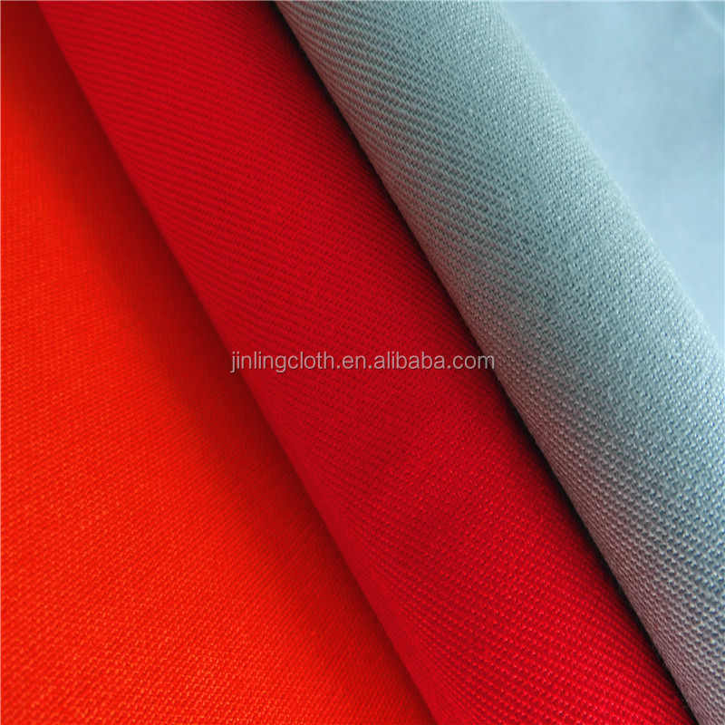 98%Cotton 2%Spandex Poplin Fabric 40x40+40D 133x72 125gsm Garment Fabric High Quality