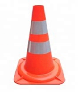 750mm Orange color Road Road Traffic Safety Cone Reflective PVC Traffic Cone