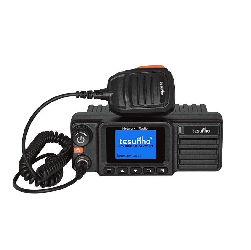 TESUNHO Freie lizenz 4G LTE hände freies ip 2 weg radio auto radio mit sim karte