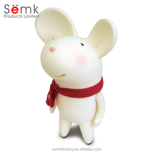 New novelty cartoon mouse plastic saving bank for kids saving money