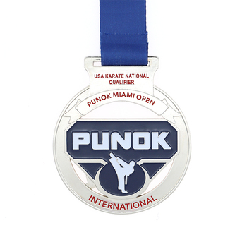 Custom new design large  iron stamped metal running medals large