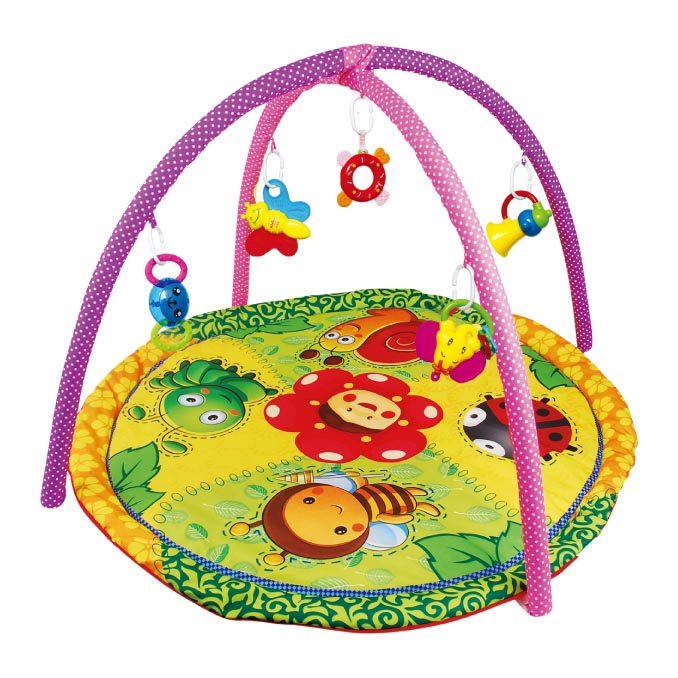 Q-BABY hot sale Cotton baby play gym mat for exercise