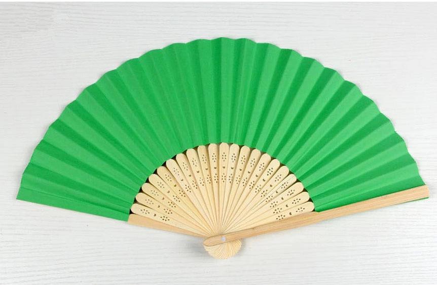 Paper Folding Fan Craft