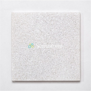Samistone hot sale 30x30 Natural Slate white marble tile for outdoor