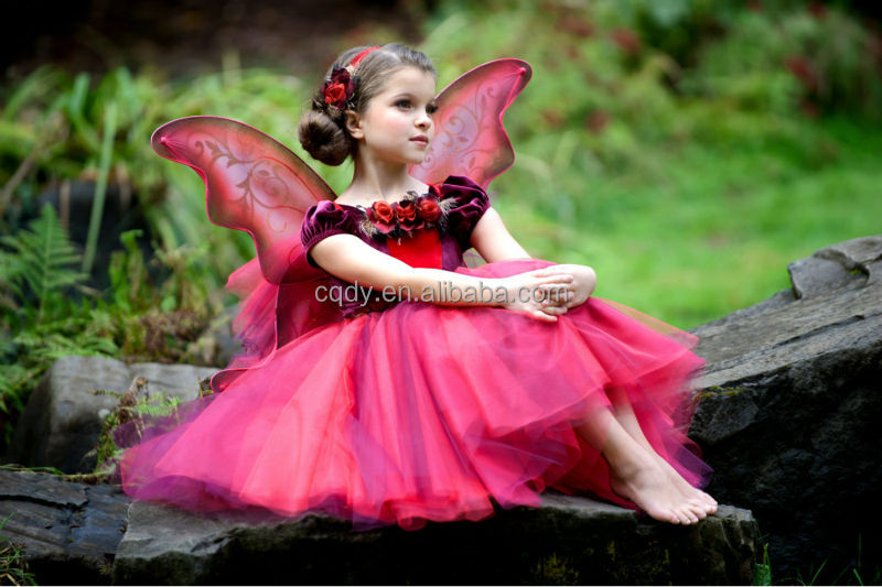 2014 Attractive And Reasonable Price Fairy Princess Flower Girl ...