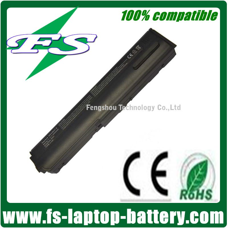 11.1V 4400mah Replacement laptop battery for Clevo M540BAT-6 M54 battery