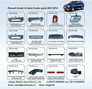 renault duster rear bumper holder buy renault duster rear bumper holder 622200145r renault. Black Bedroom Furniture Sets. Home Design Ideas
