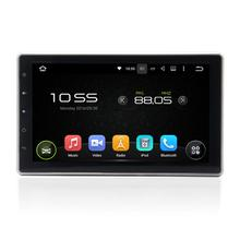 2 Din 7 inch universal slide down android 4.2.2 car radio with sim card