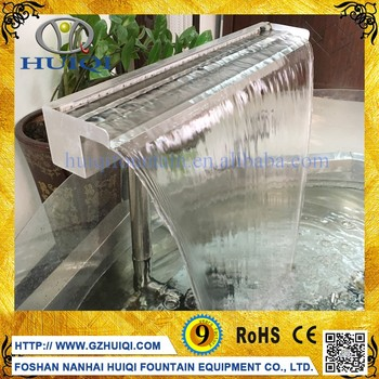 Factory Price Wall Waterfall Indoor Hanging Water Garden Fountains Water  Features
