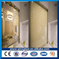 New Design Top quality price switchable glass used windows and doors glass charger plates wholesale