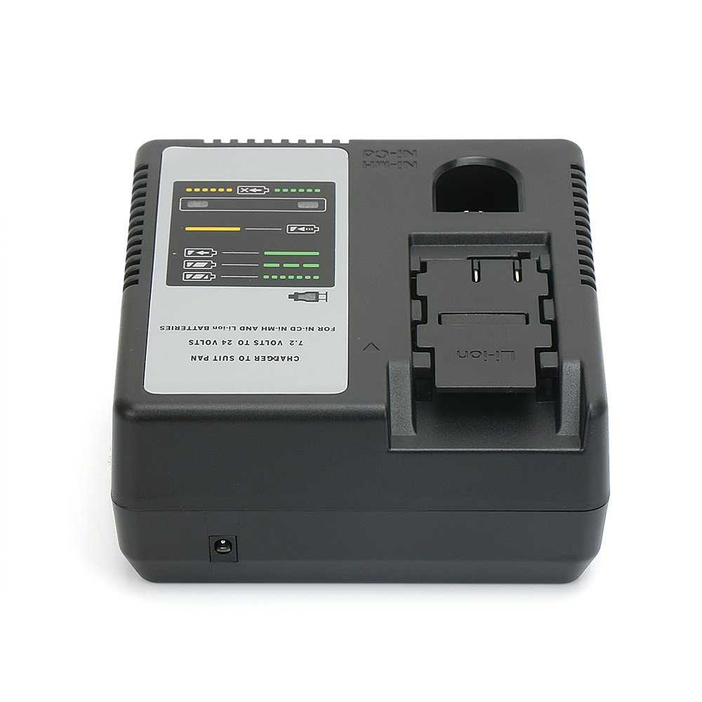 Battery Charger For Panasonic 7.2V to 24V Ni-CD, Ni-MH & Li-ion batteries EY9065 EY9086 EY9200 EY9136 EY9L60 by REEXBON