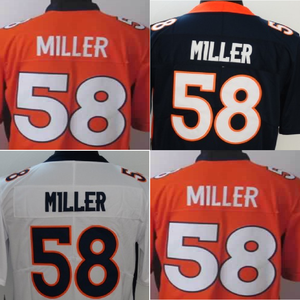 Custom Made Stitched Von Miller #58 American Football Jersey