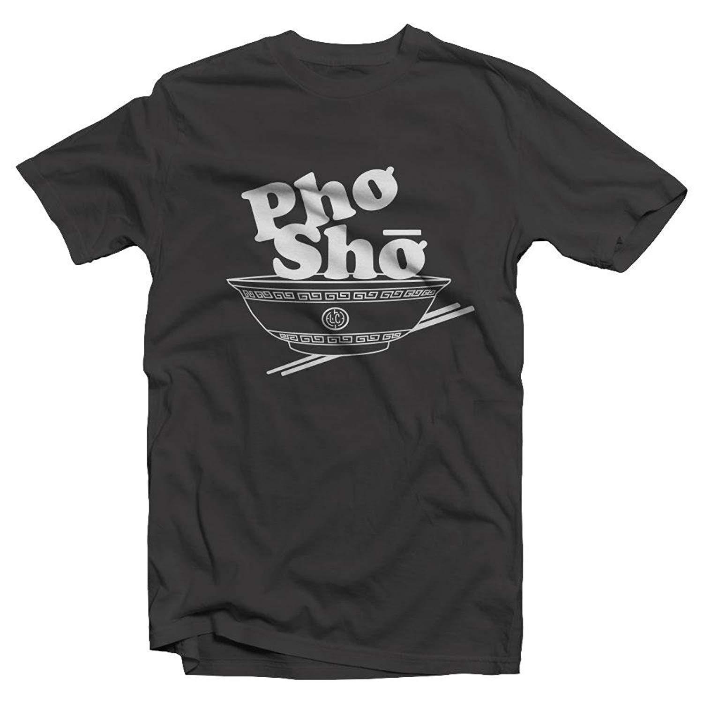 c6ba0f933 Get Quotations · Low Culture Pho Sho Funny Vietnamese Food Noodle Bowl  Unisex T Shirt