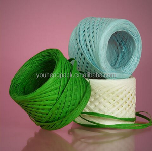 dyed 7--10mm raffia yarn supplier