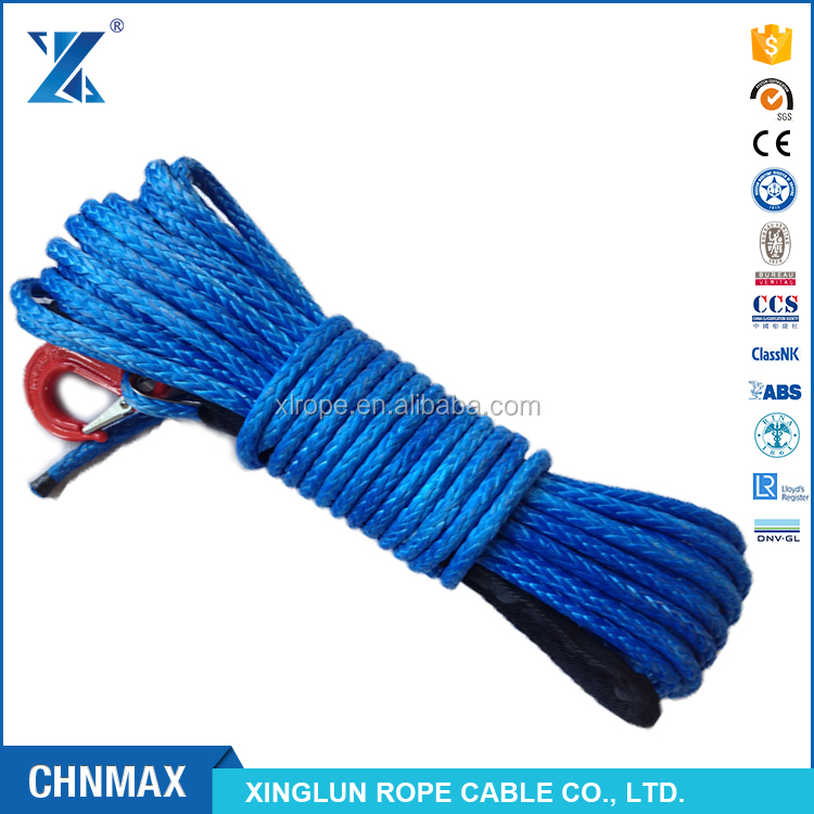 J-MAX winch cable line rope for vehicle car UTV/SUV multicolor