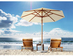 Wood Frame Beach Umbrella Supplieranufacturers At Alibaba