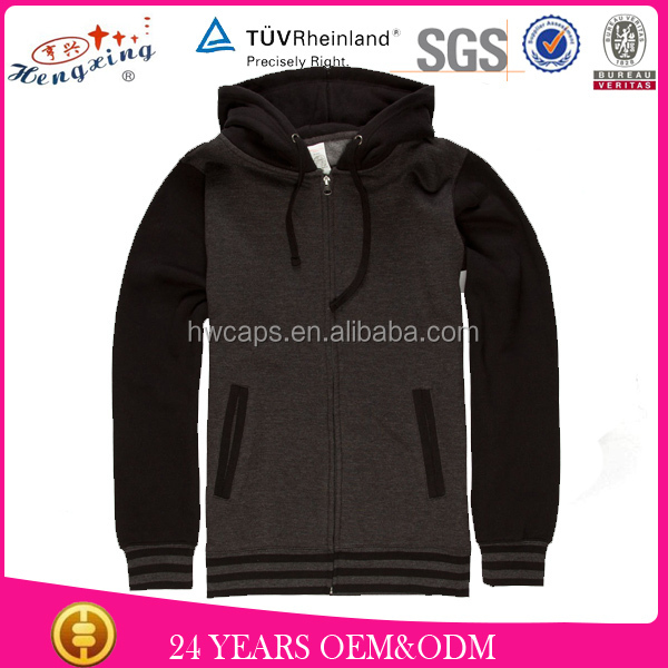 Custom 100% cotton hoodie/sleeveless hoodie t shirt
