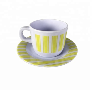 Factory Price Melamine Tableware Bulk Tea Cup and Saucers