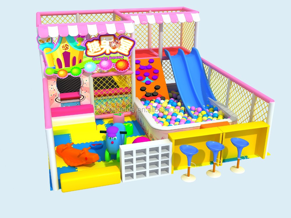 Soft Indoor Playground Equipment Toddler Play Area For