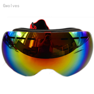 Snow Skiing Goggles Double Layer Ski snowboard goggles sun glasses