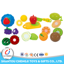 Children kitchen mini pretend set ABS happy cut fruit and vegetables toy