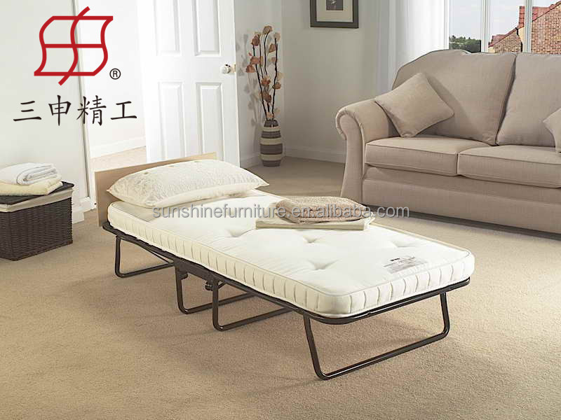 Alta calidad metal cama individual plegable, plegable cama ... - photo#27