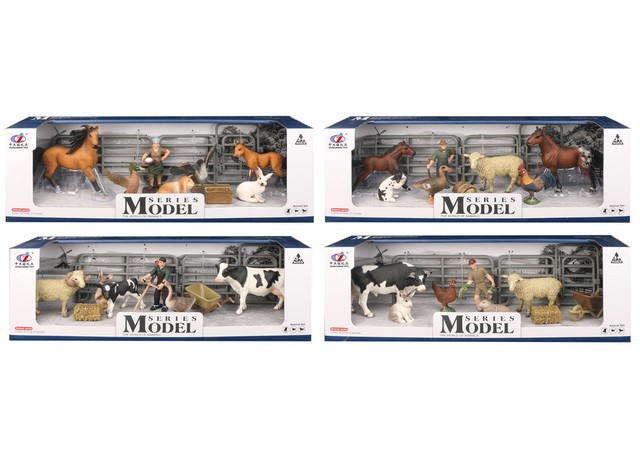 Mini plastic farm animal model voor verkoop