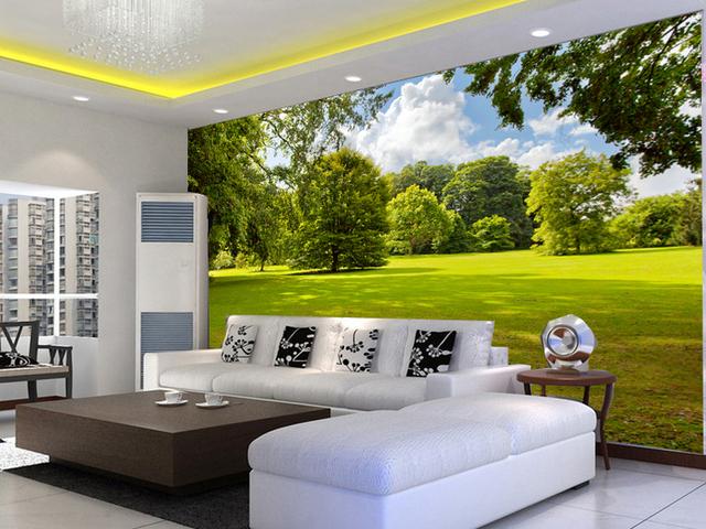3d papier peint paysage simple st r o murale papier peint pour chambre salon tv fond mur papier. Black Bedroom Furniture Sets. Home Design Ideas