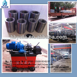 rebar straight thread rolling machine for construction