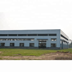 Cheap high rise prefab construction design steel structure warehouse building