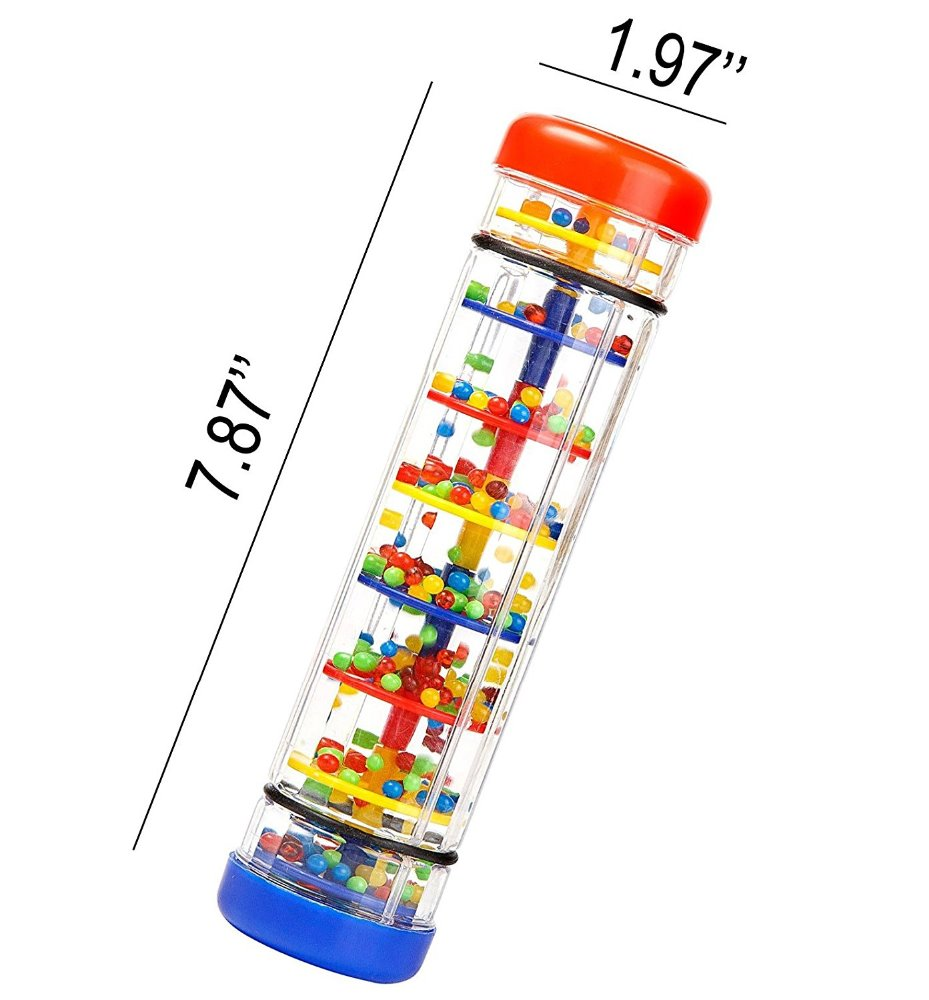 Symbol Of The Brand Early Learning Centre Baby Music Rainmaker Instrument Toy Tube Shaker Baby & Toddler Toys