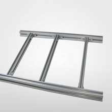 Factory Supply Chain Aluminium Ladder Type <span class=keywords><strong>Kabel</strong></span> Lade Ondersteunt