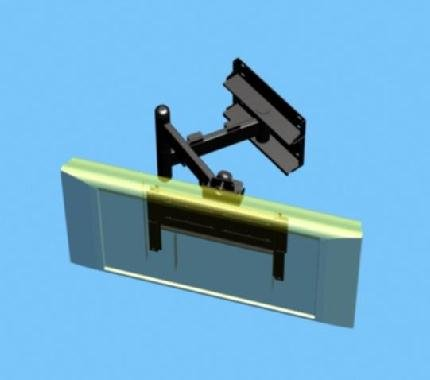 Swing Arm Wall Mount For Plasma Or Lcd Tv Buy Plasma Tv Wall