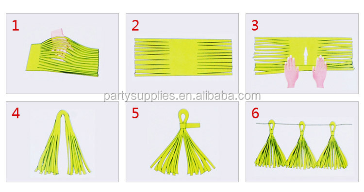 Paper Tassel Garland Decoration For Photo Shoot Background Photo Studio Background Wedding Background