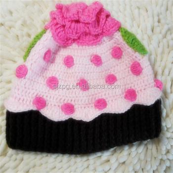 Erdbeerkuchen Häkeln Hut Baby Häkeln Hut - Buy Product on Alibaba.com