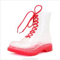 High quality cheap superior transparent rain boots kids rain boots made of rubber