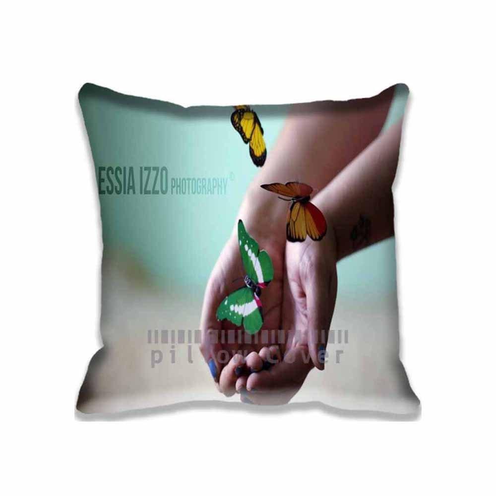 Custom Pillowcase Standard Size Cute Design Zippered Pillow Cases Home Decorative Cushion Cover Pillowcase-HY-0571